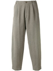 Societe Anonyme Japboy Trousers Unisex Wool S Grey