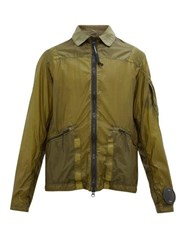 C.P. Company La Mille Coated Nylon Jacket Dark Green