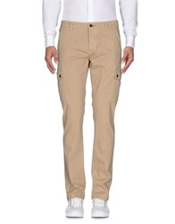 Camouflage Ar And J. Casual Pants Sand