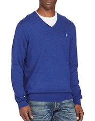Polo Ralph Lauren Cotton And Cashmere Blend Sweater Heather