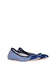 George J. Love Ballet Flats Blue