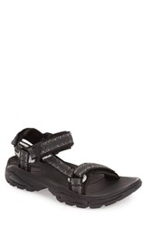 Men's Teva 'Terra Fi 4' Sandal Cross Terra Black