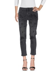 Up Jeans Denim Denim Trousers Black