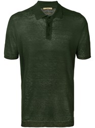 Nuur Sheer Polo Shirt Green