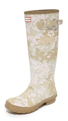 Hunter Original Tall Camo Boots Pale Sand