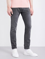 Replay Anbass Colours Slim Fit Skinny Jeans Grey