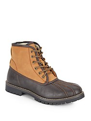 Steve Madden Cornel Faux Shearling Lined Boots Brown Tan