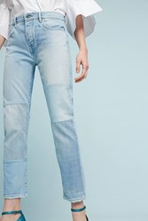 Anthropologie Levi's Made And Crafted High Rise Slouchy Tapered Jeans Denim Light