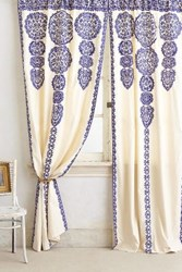 Anthropologie Marrakech Curtain Blue