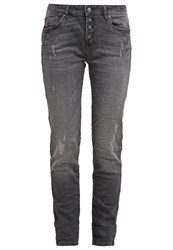 Mavi Jeans Mavi Andrea Relaxed Fit Jeans Smoke Uptwon Grey Denim