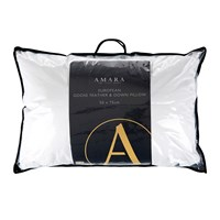 A By Amara European Goose Feather And Down Pillow