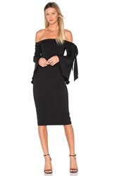 Jay Godfrey Phoenix Dress Black