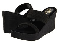 Sbicca Vibe Black Women's Wedge Shoes
