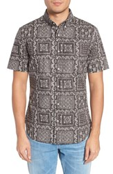 Reyn Spooner Lahaina Sailor Classic Fit Sport Shirt Black