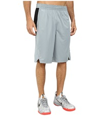 Nike Hyperelite Power Short Dove Grey Black Black Metallic Silver Men's Shorts Gray