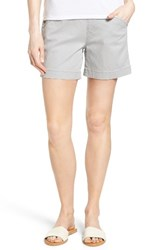 Jag Jeans Women's Ainsley Pull On Stretch Twill Shorts Shadow