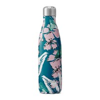 S'well Bottle The Resort Florals Waimeia Bay Blue Green Pink
