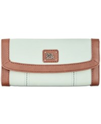 The Sak Iris Leather Flap Wallet Mint