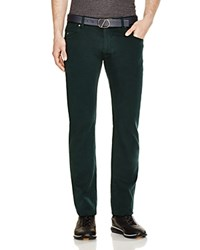 Z Zegna Slim Fit Denim Trousers Dark Green