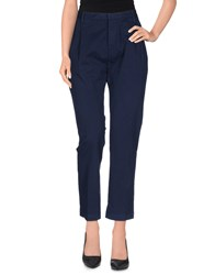Cycle Trousers 3 4 Length Trousers Women Dark Blue
