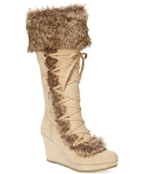 Report Pearson Tall Wedge Boots Women's Shoes