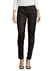 Maje Front Panel Slim Fit Jeans Night