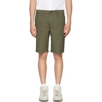 Rag And Bone Green Classic Chino Shorts