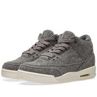 Nike Jordan Brand Air 3 Retro Wool Bg Grey