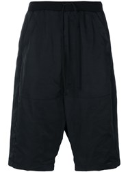Lost And Found Rooms Drawstring Shorts Men Cotton Polyester Spandex Elastane M Black
