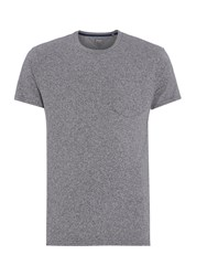 Linea Austin Cotton Crew Neck T Shirt Charcoal