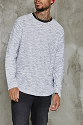 Forever 21 Purl Knit Sweater Grey