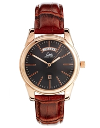 Limit Brown Strap Watch 5484.01