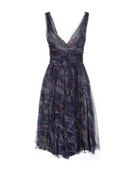 Roberta Scarpa Dresses Knee Length Dresses Women Dark Blue