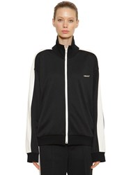 Ambush Zip Up Track Sweatshirt Side Bands Black