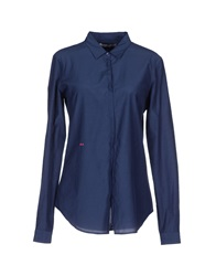 Manuel Ritz Shirts Dark Blue