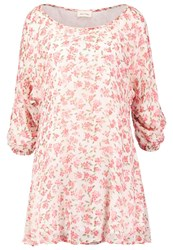 American Vintage Peonyland Summer Dress Pink