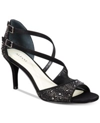 Alfani Women's Cremena Asymmetrical Evening Sandals Only At Macy's Women's Shoes Black