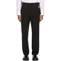 Wooyoungmi Black Detachable Pouch Trousers