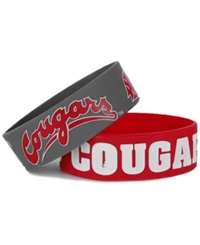 Aminco Washington State Cougars 2 Pack Wide Bracelets Team Color