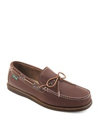 Eastland Yarmouth Moc Stitched Loafers Brown