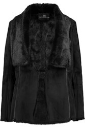 Tart Collections Chrissy Faux Suede Coat Black