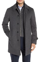 Sanyo Merlet Wool Raincoat Grey