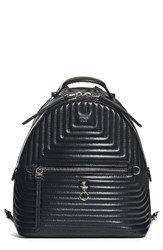 Fendi Small Quilted Lambskin Leather Backpack