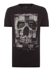 Label Lab Amps Graphic Fit T Shirt Black