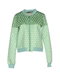 Annarita N. Sweatshirts Light Green