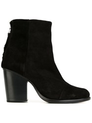 Rag And Bone Rag And Bone Chunky Heel Boots Black