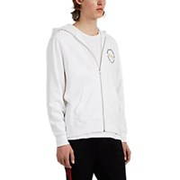 Ovadia And Sons Bruce Lee Cotton Terry Hoodie White