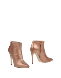 Gianni Marra Ankle Boots Copper