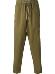 Ymc Tapered Chino Trousers Green