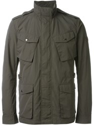 Woolrich Military Jacket Grey